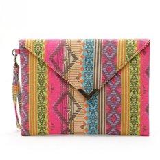 Amart Geometric Canvas Bags Envelopes Clutch Small Ladies Handbags Women Phone Purses