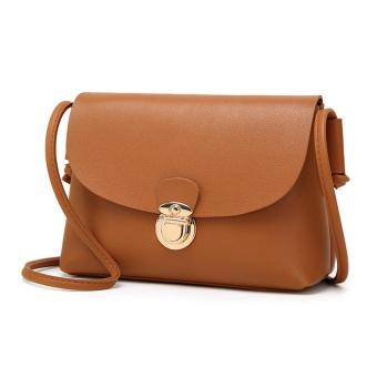 Amart Women Casual PU Leather Shoulder Bag Purse Clutches Crossbody Messenger Mini Bags - intl