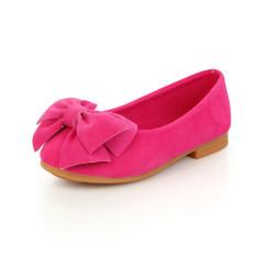 Anak Baru Gaun Anak Sepatu Anak Bayi Princess Flat Busur-Simpul Sepatu