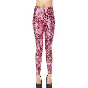 AOXINDA New Spring Printed Fashinable Printed Stretch Leggings Pencil Tight Pants - Intl - Intl