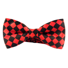 AOXINDA Tied Bow Ties Necktie Bowtie Tie Knot Men's Plaid Jacquard Self Tied Adjustable Tuxedo Wedding Party Bowtie - Intl