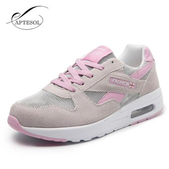 APTESOL Women Fashion Casual Mesh Sneakers Summer Breathable AirSport Running Shoes - intl