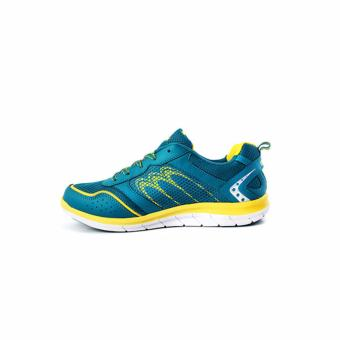 Ardiles Men Zachary Running Shoes Biru Kuning