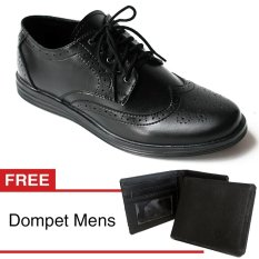 Arfu wingtip classic formal free dompet