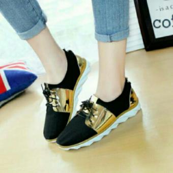 Arlaine Manohara Sneaker Shoes [Gold]