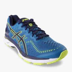 Asics Gel-Kayano 23 (2E) Men's Running Shoes - Biru