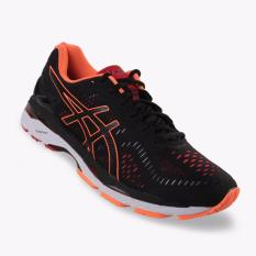 Asics Gel-Kayano 23 Men's Running Shoes - Standard Wide - Hitam