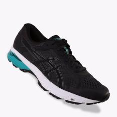 Asics GT-1000 6 Men's Running Shoes - Standard Wide - Hitam