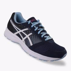 Asics Patriot 8 Women's Running Shoes - Standard Wide - Navy