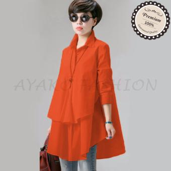 Ayako Fashion Blouse Hiraku - HO (Orange)