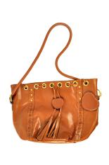 Azone Korean Style Women's Lady Hobo PU Leather Handbag Fashion Shoulder Bag Purse (Brown)