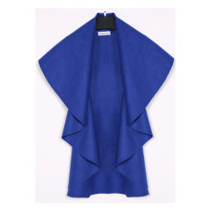 AZONE Women's Wool Shawl Poncho Wrap Scarves Coat (Sky Blue)