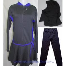 Baju Renang Muslim Jumbo Polos BRM-062J
