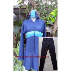 Baju Renang Muslim Jumbo Polos BRM-071J