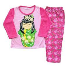 Baju tidur anak perempuan umur 1Y-4Y Japan Girl