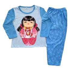 Baju tidur anak perempuan umur 4Y-7Y Japan Girl 2