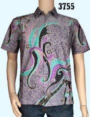 Baladewa Batik Kemeja Batik Pria Sofie Abu 3755