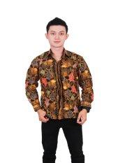 Batik Putri Ayu Batik Kemeja Kode KPJ13 Versi C Cokelat