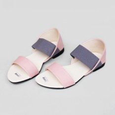 Beauty Shoes Sendal Poppy Strech - Peach