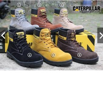BEST SELLER !!! Sepatu Caterpillar Safety Boots - CT01L410