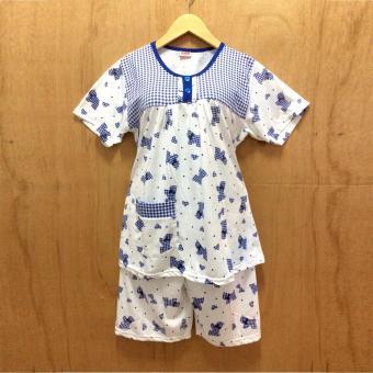 BKH Baju Tidur Dewasa / Babydoll Dogge (BLUE)