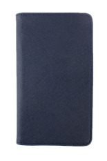 Bluelans Faux Leather Travel Passport Holder Wallet ID Card Organizer Case Cover Navy Blue