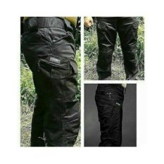 Bohel Celana Tactical Blackhawk panjang - Hitam [Black]