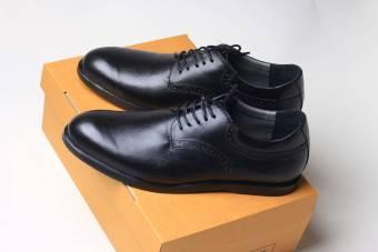 Boston Oriol Sepatu Pria Kulit Kambing Asli