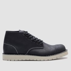 Brodo Footwear Alpha Black Ivory Sole