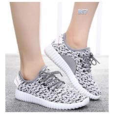 BS Sepatu Kets Yeezy Boost Putih