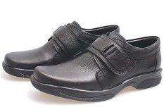 BSM Soga BFH 355 Sepatu Loafer / Formal / Kerja Pria - Kulit Asli - Elegan - Hitam