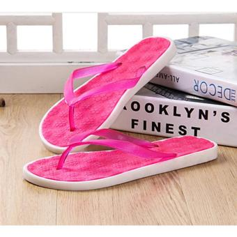 5f38a1c74c11 Candy Color Fashion Home Furnishing Indoor Floor Bedroom Bathroom Slippers  Women Sandals Solid Bath Anti-