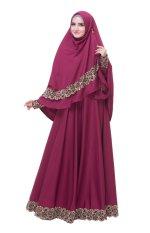 Promo baju muslim branded model terbaru Baju gamis pesta lazada