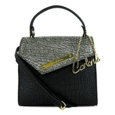 Carlo Rino 0303386-001-08 Flap over sling bag (Black)