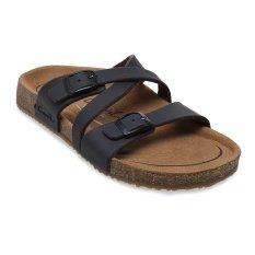 Carvil Khanza - 07L Footbed Sandal Wanita - Dark Brown