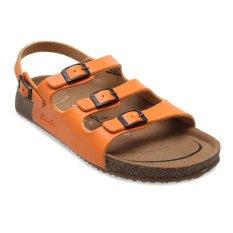 Carvil Khanza - 10L Footbed Sandal Wanita - Oranye
