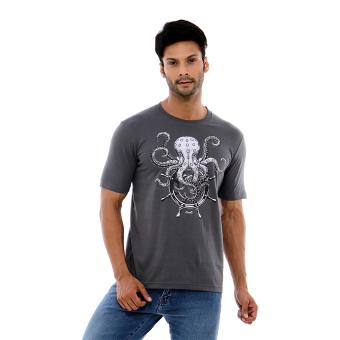 Carvil Men Gry-A4 T Shirt Man - Grey