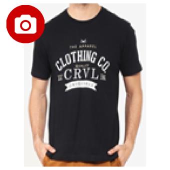 Carvil Teeblk-A4 T Shirt Man - Black