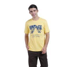 Carvil Tesco Men's T-shirt - Kuning