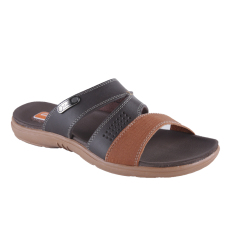 Carvil Viscara-183M Men's Casual Sandal - Dark Brown