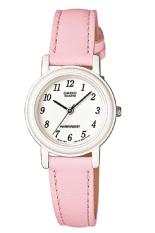 Casio Analog Watch LQ-139L-4B1DF Jam Tangan Wanita - Pink - Tali Kulit - Petite Size