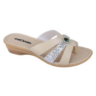 Catenzo |Jual Sandal High Heels Wanita - TG 170 | Bahan : SYNTHETIC | Warna : CREAM PUTIH