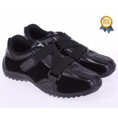 Catenzo Junior Sepatu Sekolah Anak Laki-Laki - Hitam - CAT 071