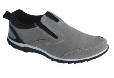 Catenzo Sepatu Casual Slip On Suede Best Seller - Grey
