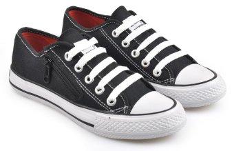 Sepatu Sekolah Hitam Wanita Keren - Nusagates