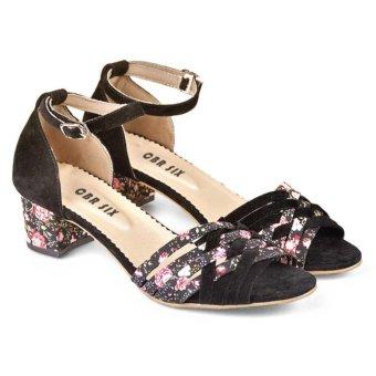 Cbr Six Owc 187 Sepatu High Heels Casual/Pesta Wanita-Sintetis-Lucu Terbaru 2017 ( Hitam )