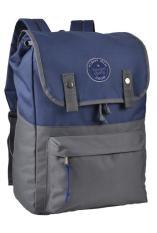 CBR SIX Tas Ransel Backpack Sekolah Kuliah Kerja Best Seller - Abu-Biru