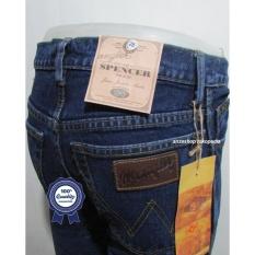 Celana Jeans Branded Wrangler Standar/Regular Biowash 27-32 CO