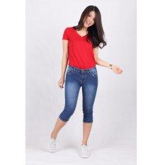 Celana Jeans Wanita Cropped 7/8 (7704)