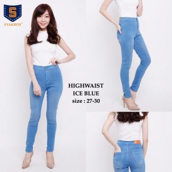 ... Show 2nd Red Basic Denim Navy 124193 Newest Model Specifications Source Celana panjang jeans wanita long